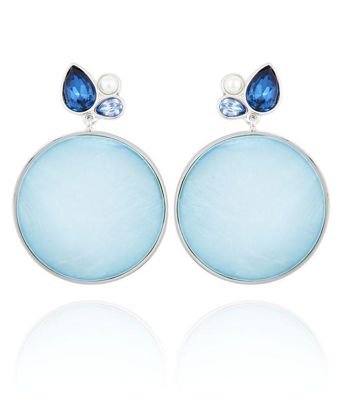 T Tahari - Stones and Shells Drop Earring