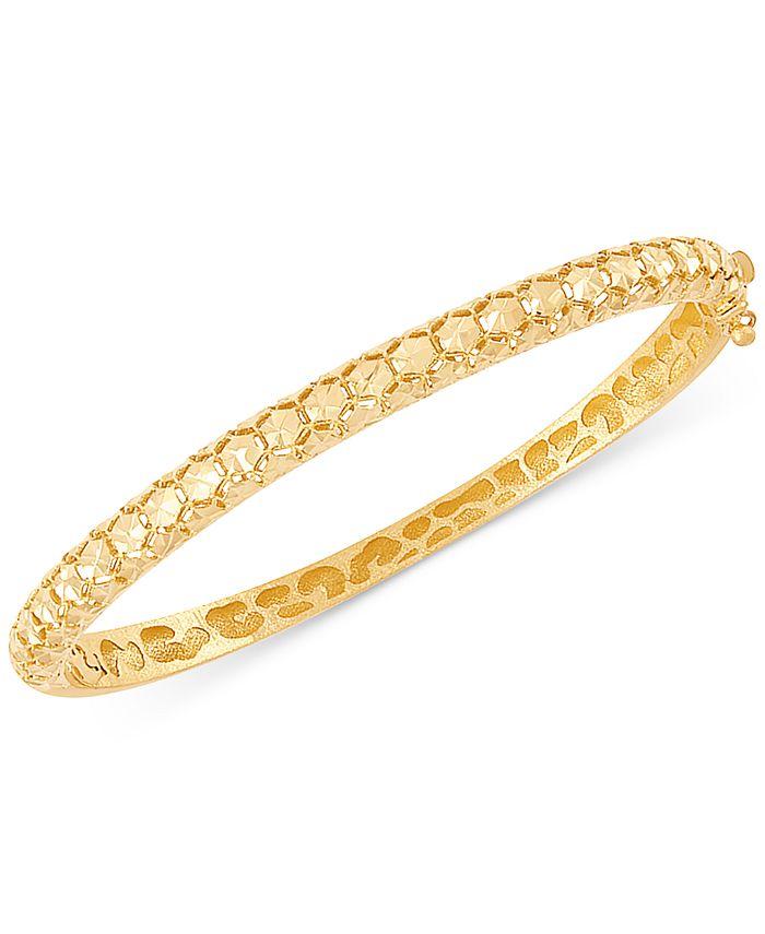 EFFY Collection - Bead-Pattern Bangle Bracelet in 14k Gold