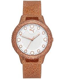Puma Women's Reset Silicone Strap Watch 36mm
