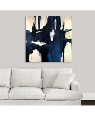 'Caves' Framed Canvas Wall Art, 36