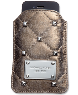 MICHAEL Michael Kors iPhone Case, Quilted Stud