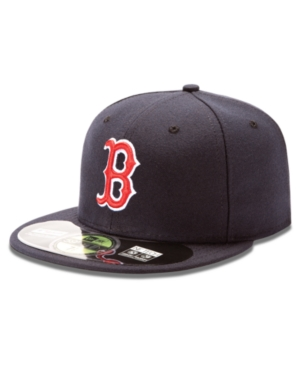 New Era MLB Hat Boston Red Sox OnField 59FIFTY Fitted Baseball Cap