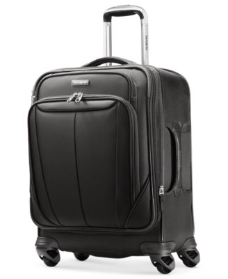 """CLOSEOUT! Samsonite Silhouette Sphere 21"""" Widebody Carry On Expandable Spinner Suitcase"""