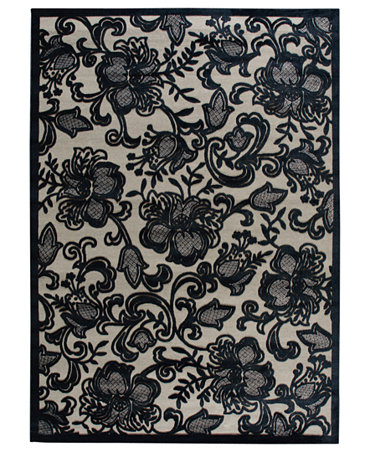 Nourison Rugs East Hampton Gothic Lace Pewter Rugs Macy S