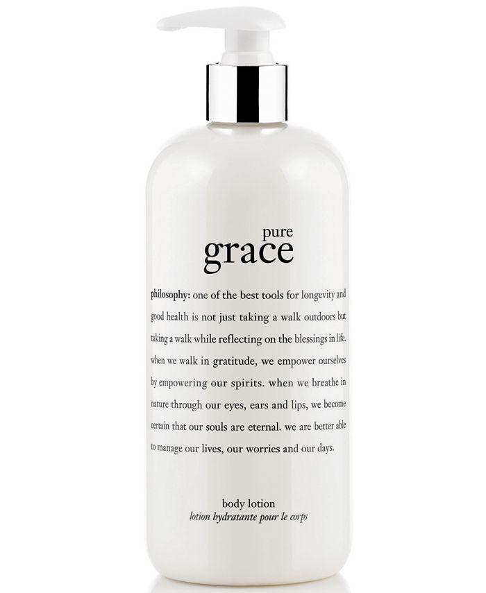 philosophy - pure grace lotion, 16 oz.