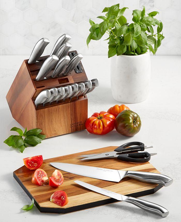 Chicago Cutlery - Insignia 18-Pc. Cutlery Block Set