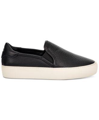 Women's Jass Leather Slip-On Sneakers \u0026
