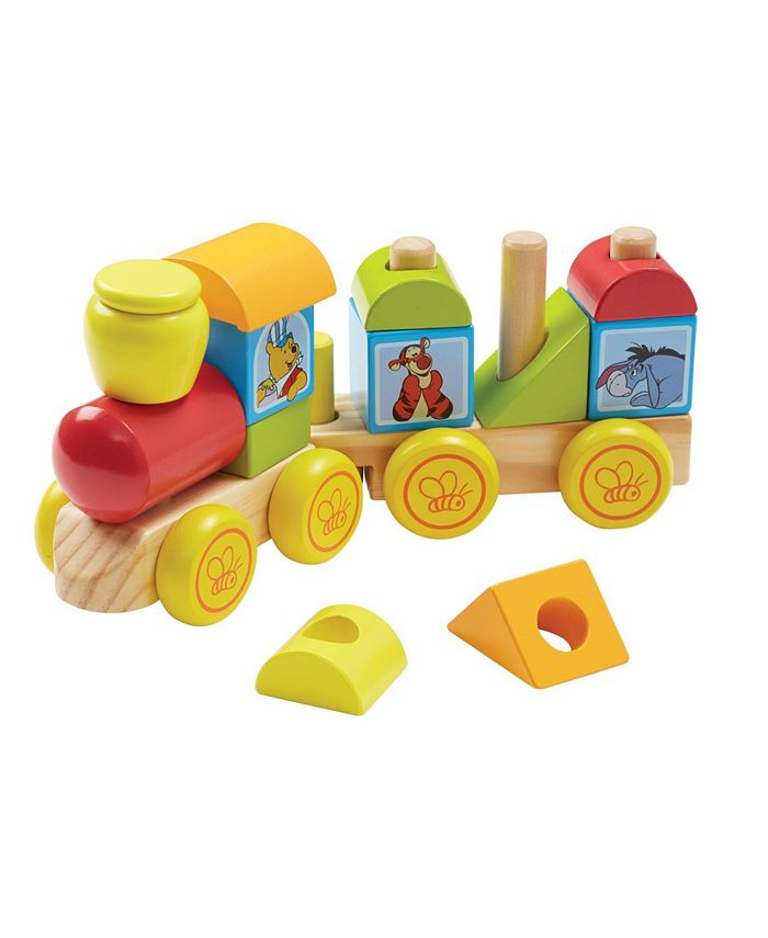 Melissa and Doug - Winnie The Pooh Wooden Stacking Train