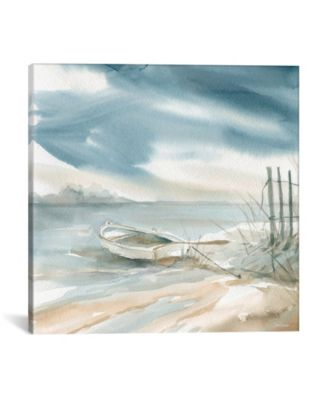 Subtle Mist Ii by Carol Robinson Wrapped Canvas Print - 18