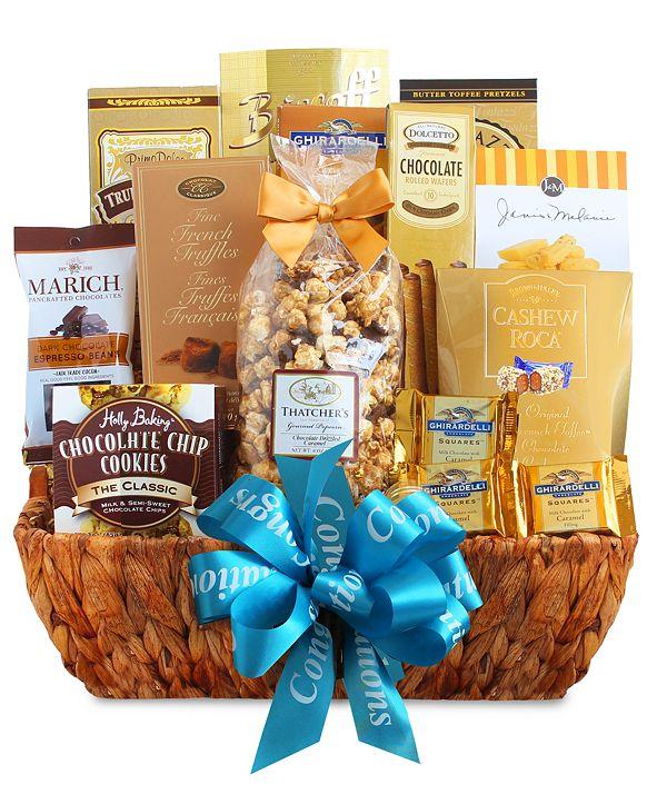 California Delicious Craving & Congratulations Desert Gift Basket