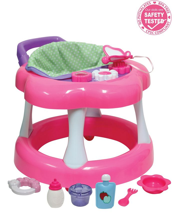 JC TOYS - JC Toys, For Keeps Baby Doll Walker Playset Fits Most Dolls Up to 17 inch - For Children 2 Years and older