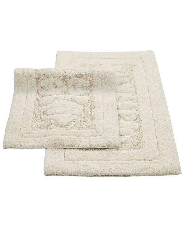 "Perthshire Platinum Collection Cipher 20"" x 30"" and 21"" x 34"" 2-Pc. Bath Rug Set"