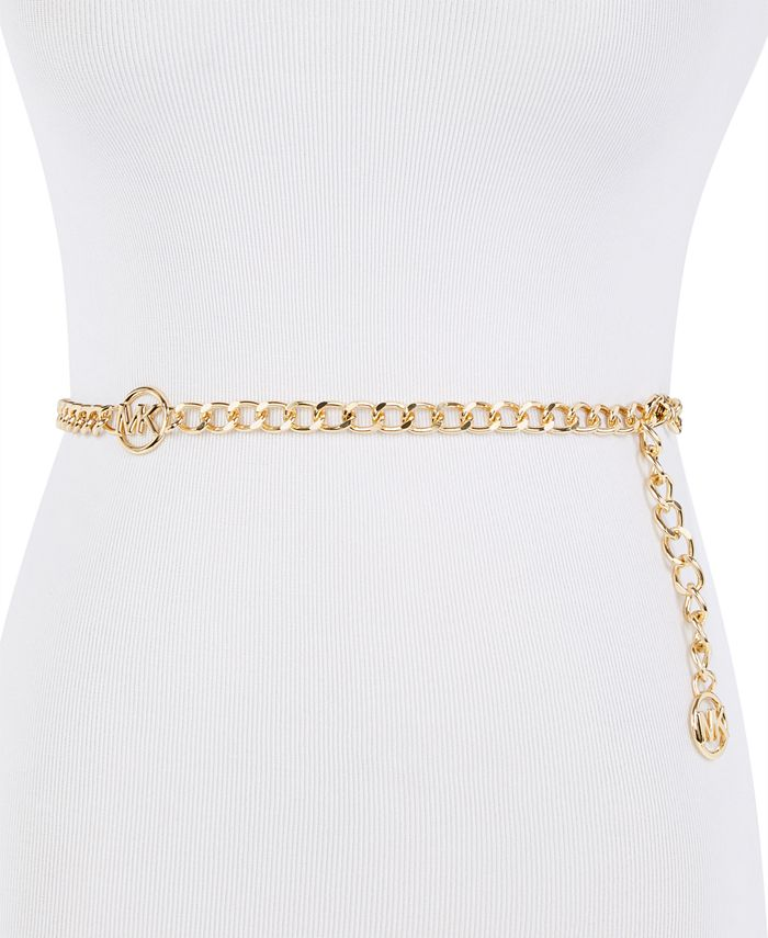 Michael Kors - MK Logo Chain Belt