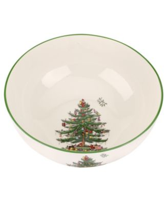CLOSEOUT! Christmas Tree Large Round Bowl