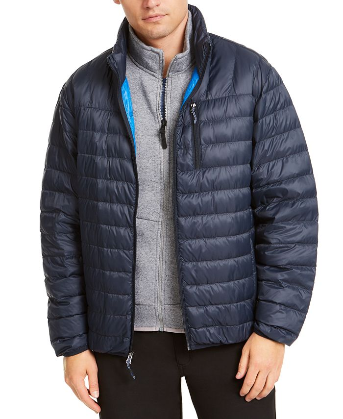 Hawke & Co. - Men's Quilted Packable Down Jacket