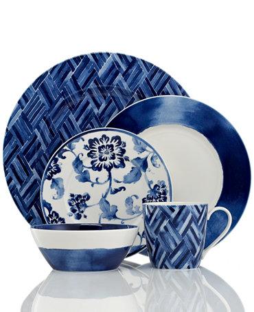 lauren ralph lauren dinnerware mix and match somerset island collection fine china macy 39 s. Black Bedroom Furniture Sets. Home Design Ideas