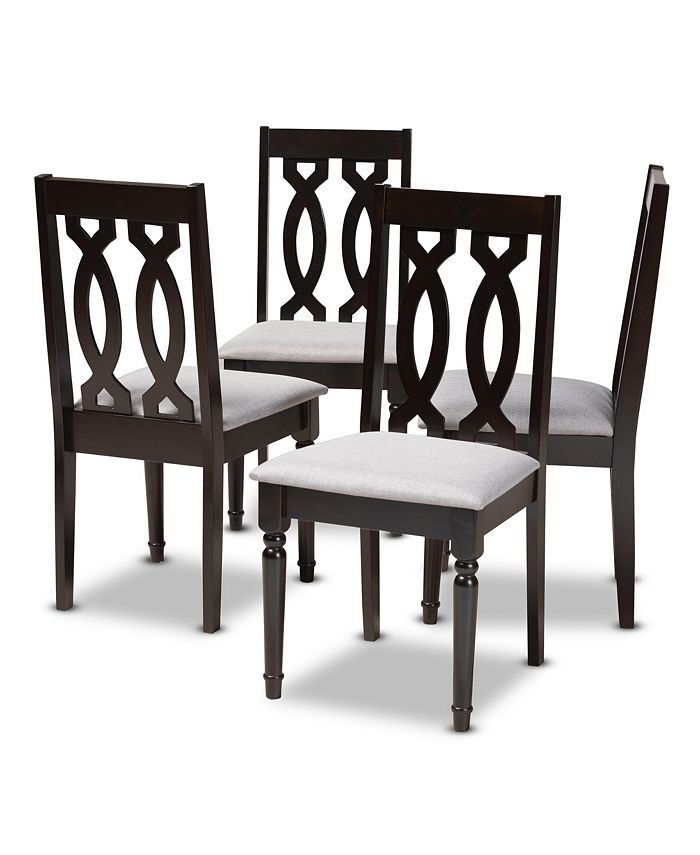 Furniture - Cherese Dining Chair, Quick Ship (Set of 4)