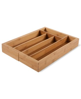 Core Bamboo Flatware Tray, Expandable