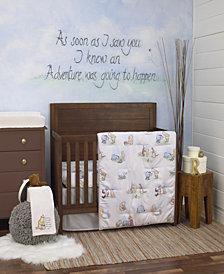 Disney Winnie the Pooh Storybook 6-Piece Crib Bedding Set