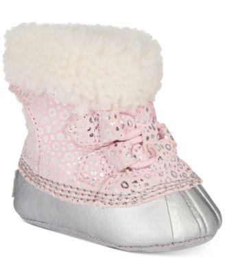 Sorel Baby Girls Shearling Cari Booties