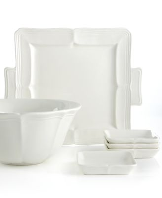 Dinnerware, French Countryside Square Dessert Tray