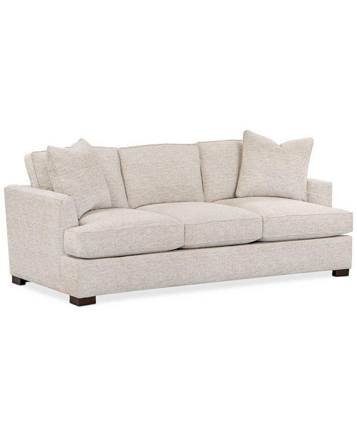 """Furniture - Juliam 89"""" Fabric Sofa"""