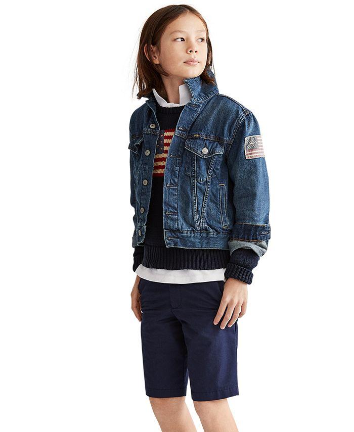 Polo Ralph Lauren - Big Boys Denim Cotton Trucker Jacket