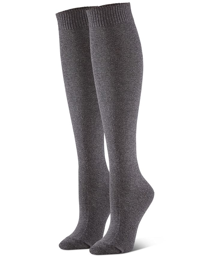 Hue Women S 3 Pk Flat Knit Knee Socks Reviews Handbags Accessories Macy S