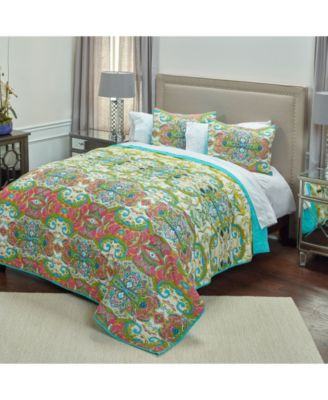 Riztex USA Carnivalle Queen Quilt