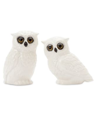 CLOSEOUT! Edie Rose by Rachel Bilson Dinnerware, Owl Salt and Pepper Shakers