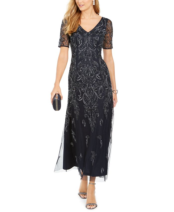 Adrianna Papell - Petite Embellished Dress