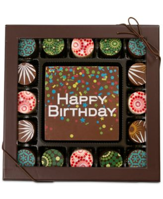 17-Pc. Birthday Gourmet Chocolate Truffles