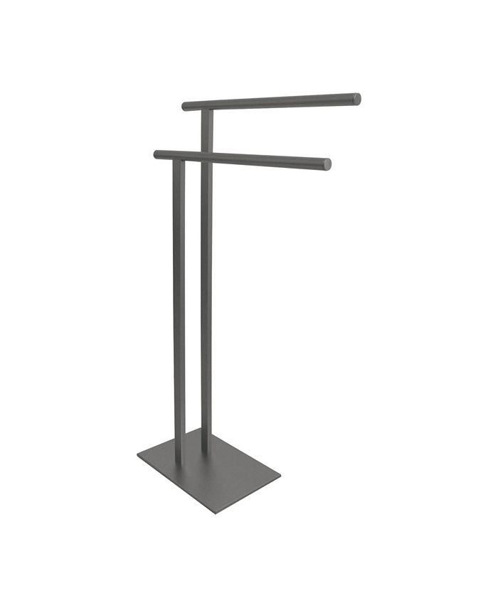 Kingston Brass - Double L Shape Pedestal Towel Holder