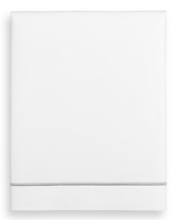 Hotel Collection Italian Percale Full Flat Sheet, Created for Macy's