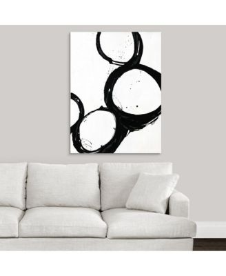 'Somer Saults III' Canvas Wall Art, 30