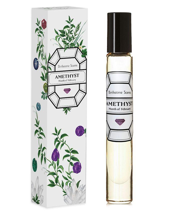 Birthstone Scents - Amethyst Perfume Oil Rollerball, 0.27-oz.