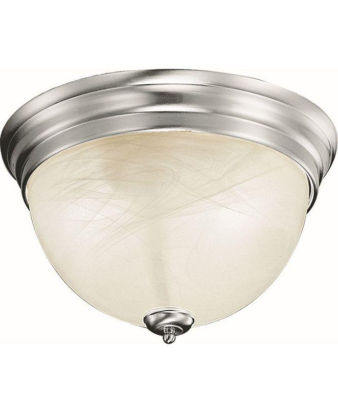 Volume Lighting Troy 2-Light Flush Mount Ceiling Fixture