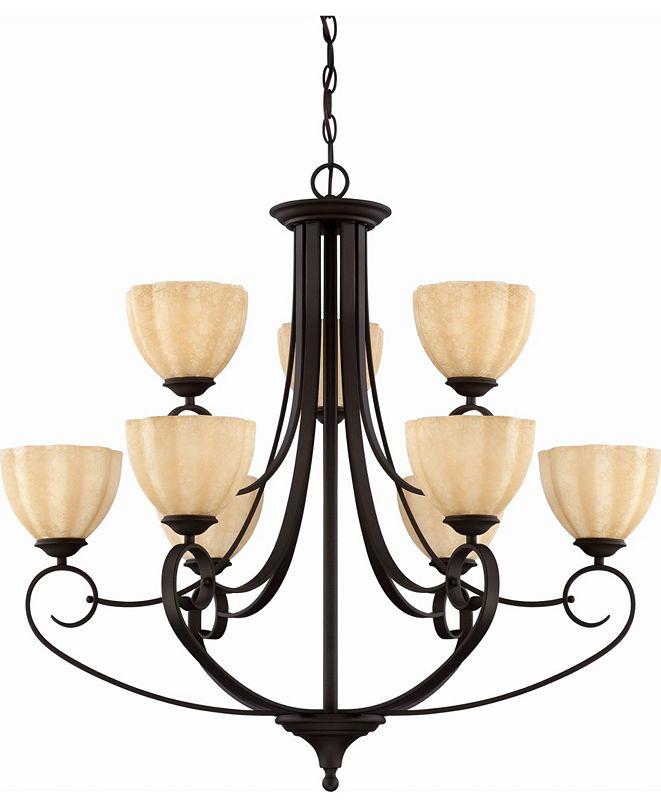Volume Lighting Annecy 9-Light Hanging Chandelier
