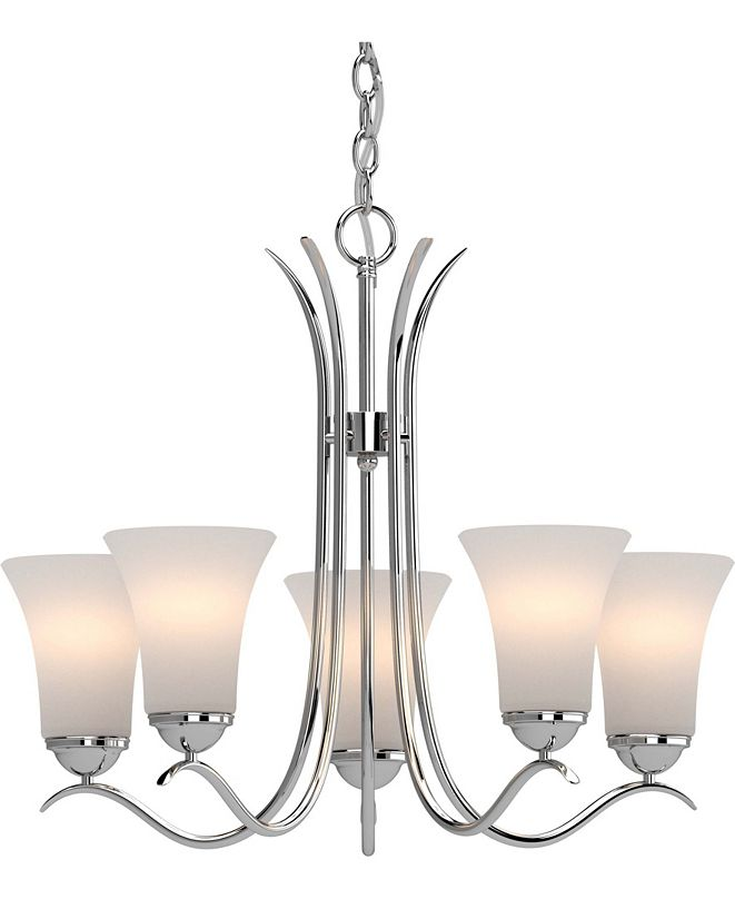 Volume Lighting Alesia 5-Light Hanging Chandelier