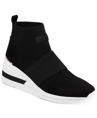 Marc Fisher Muscle Knit Wedge Sneakers