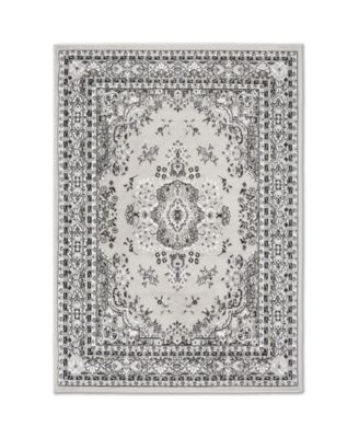 "Global Rug Design Loma LOM01 Gray 7'8"" x 10'7"" Area Rug"