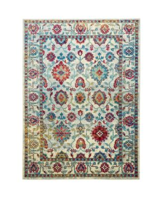 "CLOSEOUT! Global Rug Design Venus VEN07 Ivory 5'3"" x 7'2"" Area Rug"