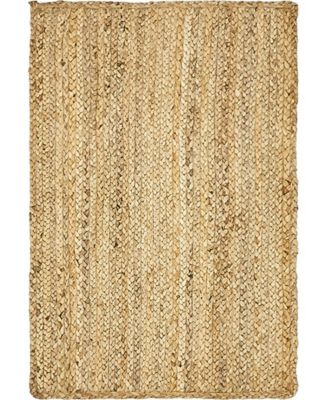 Braided Jute C Bjc5 Natural 10' x 14' Area Rug