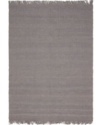 Stout Jute Stj1 Gray 9' x 12' Area Rug
