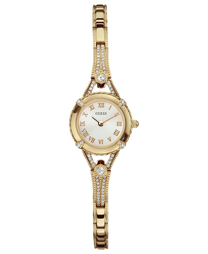 GUESS - Watch, Women's Gold Tone Bracelet 22mm U0135L2