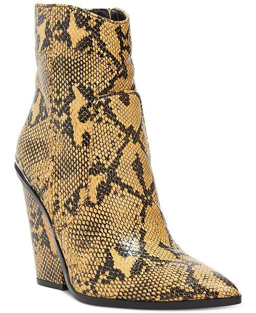 Antagonismo Stevenson lila  Steve Madden Women's Rarely Western Leather Booties & Reviews - Boots -  Shoes - Macy's