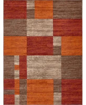 Jasia Jas14 Multi 2' x 6' Runner Area Rug