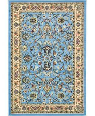 Arnav Arn1 Light Blue 5' x 8' Area Rug