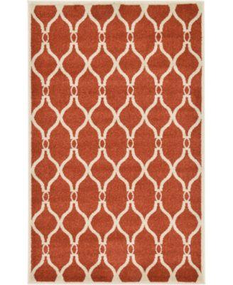 Arbor Arb6 Terracotta 9' x 12' Area Rug