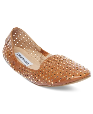Steve Madden Womens Shoes Pompei Smoking Flats Womens Shoes